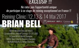 Ne manquez pas les leçons d'un grand reiner : Brian Bell sera au Pin en mai 2017