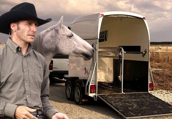 Franck Petetin fait monter votre cheval dans le van…