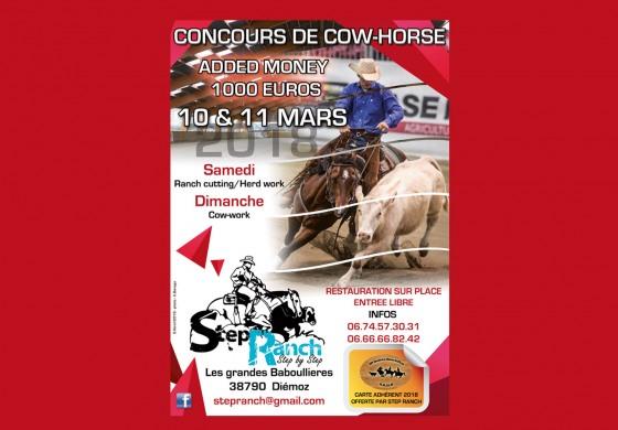 Concours de Cow-Horse en Isère le week-end prochain