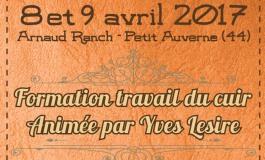 Yves Lesire « fait classe » chez Arnaud Ranch (Loire-Atlantique) les 8 et 9 avril 2017