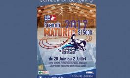 French Maturity 2017 de reining : les inscriptions seront closes ce vendredi 9 juin 2017 à minuit