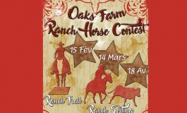 On s'inscrit vite au Ranch Horse Contest !