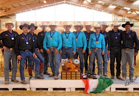 Reined Cow Horse – Nation Cup : Une « victoire » de l'esprit d'équipe