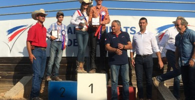 Ranch sorting : Championnat de France FFE, rodage réussi