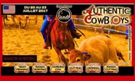 LE rendez-vous des cowboys européens, c'est le 20 juillet 2017 à Lanuejols