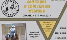 Concours western en Alsace le 14 mai 2017