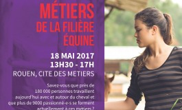 Une journée pour les métiers du cheval à Rouen le 18 mai 2017