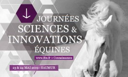 Avant lundi (25/02/2019), choisissez les sujets des Journées sciences et innovations équines !