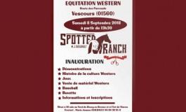Inauguration d'un ranch dans l'Ain !