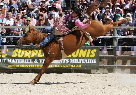 Saint-Agrève (07) - Equiblues 2014 - Rodéo - Diaporama Broncos