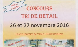 Ranch sorting dans l'Allier