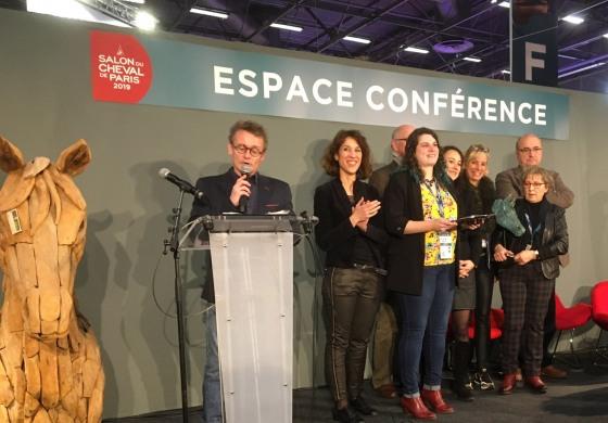Salon du Cheval de Paris 2019, le jury a décerné son Trophée de l'Innovation