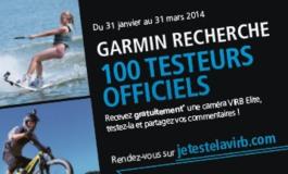 Serez-vous testeur pour Garmin ?