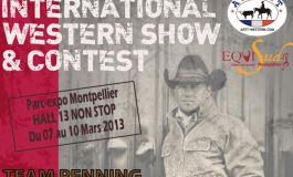 EQUISUD – Montpellier 2013 : Le western en tête d'affiche